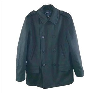 Nautica  Double Breasted Peacoat